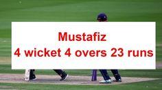 Mustafiz 4 wicket highlights sussex vs essex !  NatWest t20 Blast, 2016