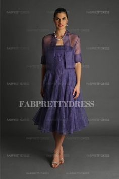 4dc37cf4aa6 A-Line Princess Strapless Tea-length Organza Mother of the Bride Dress