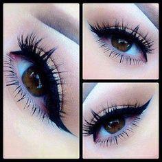 Simple cat eye & some dramatic lashes today - Dramatic Wedding Makeup Makeup Blog, Makeup Inspo, Makeup Inspiration, Makeup Tips, Beauty Makeup, Hair Beauty, Makeup Ideas, Casual Makeup, Cute Makeup