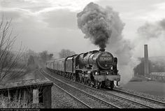 Net Photo: 46115 British Railways Ex-LMS Royal Scot class at Settle, North Yorkshire, United Kingdom by Steve Armitage Diesel Locomotive, Steam Locomotive, Pullman Car, Steam Railway, British Rail, Great Western, Steam Engine, North Yorkshire, Trains