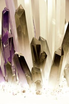 crystals! of all kinds, natural geometry and patterns, un limited reference! and one of my most used in my art!