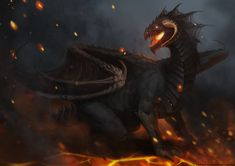 Racial Wars: Black Dragon by telthona.deviantart.com on @deviantART
