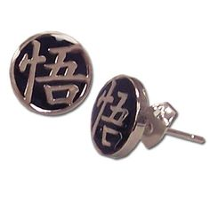 Dragon Ball Z Goku Symbol Earrings * Want additional info? Click on the image.