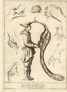 R. Alfabeto in Sogno (Alphabet in a Dream) [no JUW], Giuseppe Maria Mitelli, 1683