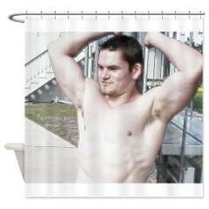 Dalton 9799 Shower Curtain > Beefcake Photos > Korok Studios