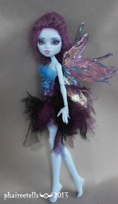 Monster high repaint custom Abbey fairy by phairee004.deviantart.com on @deviantART