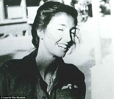 In a photograph taken after the war, deadly special agent Christine Granville smiles for a never-before-seen picture