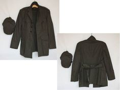 Vintage US Marines Dress Coat or Jacket with by ilovevintagestuff
