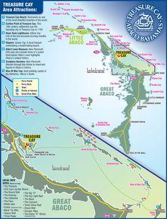 Abaco Bahamas tourist map - abaco bahamas • mappery