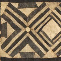 Women's ceremonial skirt panel: DRC, Bushong people, early 20th century.