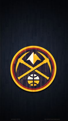 Denver Nuggets Wallpapers Pro S. Basketball Art, Basketball Leagues, Basketball Players, Jordan Logo Wallpaper, Team Wallpaper, Broncos Wallpaper, Nba Pictures, Nba League, Sports Team Logos