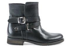 Solveig - boots en cuir noir #Andre - 109,00€