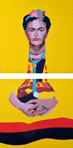 Art Prints | Online Gallery | Modern Art 'Frida' Print