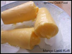 It was a very hot day, feel like eating nothing and just drink and drink and drink. So instead of making lunch, we had Mango lassi , two fu. Mango Lassi, Kulfi, No Cook Meals, Hot Dog Buns, Vegetarian Recipes, Lunch, Drink, Eat, Cooking