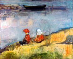 Edvard Munch - Two Children on the Beach, 1904