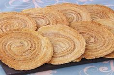 Paul's Arlettes ~ delicate French biscuit/cookie from laminated dough rolled with cinnamon-sugar spirals   recipe by Paul Hollywood, as seen on GBBO s6e2 technical challenge   via TheGreatBritishBakeOff.co.uk