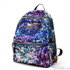 Famous Brand Women Backpack Bags 2017 New Fashion Sequins Backpacks Rucksack for Ladies Female Casual Travel Laptop Backpack Cute Backpacks, Girl Backpacks, School Backpacks, Stylish Backpacks, Backpack For Teens, Backpack Bags, Laptop Backpack, Backpack Online, Gucci Handbags