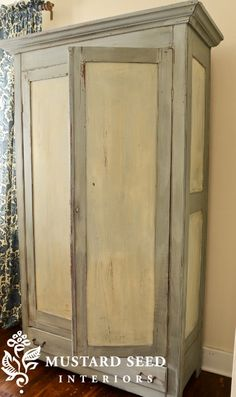 painted wardrobe armoire