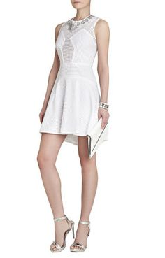Serina Sleeveless Eyelet Dress | BCBG  http://www.bcbg.com/Serina-Sleeveless-Eyelet-Dress/XLB67A18-100,default,pd.html?dwvar_XLB67A18-100_color=100&cgid=dresses#prefn1=colorRefinement&prefv1=White&start=42&sz=40