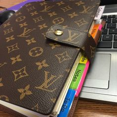 Louis Vuitton Large Ring Agenda Just sharing my baby! NOT FOR SALE! Follow me on Instagram /aunt/.gen Louis Vuitton Accessories