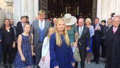 Koninklijk gezin en andere Nederlandse Royals bij doop Prins Carlos Enrique!