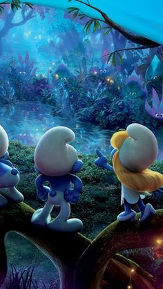 Smurfs and the lost village