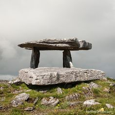 Photo by @jeffmauritzen. Poulnabrone #dolmen is a megalithic tomb dating over 5000 years old. This portal tomb which marks the remains of 22 individuals can be found in a rocky and beautiful landscape known as the #Burren in County Clare #Ireland. If you're in the area make sure to explore the Burren National Park as well. Enjoy! by natgeotravel