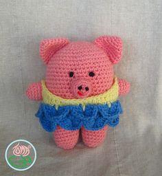 Ravelry: Amigurumi Ballerina Piggy pattern by Tamara Lazaridou