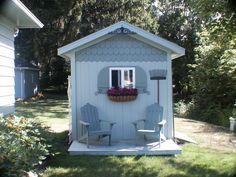 The backyard potting shed/folly