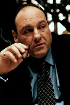 James Gandolfini in The Sopranos