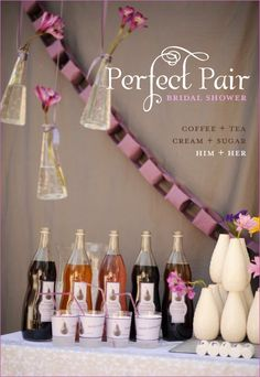 Bridal shower theme-perfect pair!