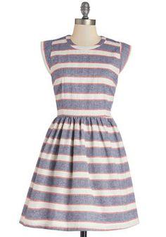 Boardwalk and Talk Dress, #ModCloth