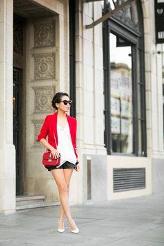 Casual Red :: Crimson blazer
