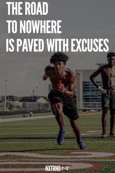 The road to nowhere is paved with excuses. #FootballQuotes #SportQuotes #Motivation #Inspiration #Football #Nxtrnd #Training Best Football Quotes, Motivational Quotes For Athletes, Mouth Guard, Sport Quotes, Motivation Inspiration, Coaching, Life Quotes, Positivity, Training