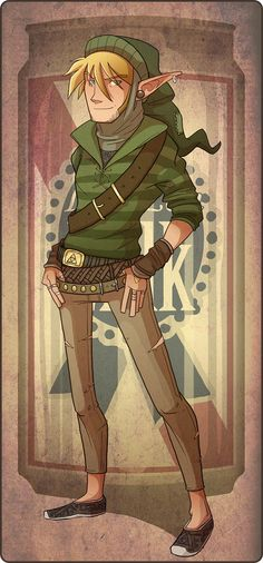 Hipster Link doesn't save Princesses anymore