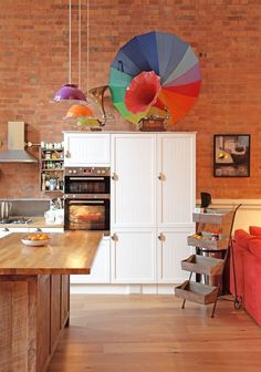 Open-plan kitchen by Avocado Sweets, Photography by Fisher Hart
