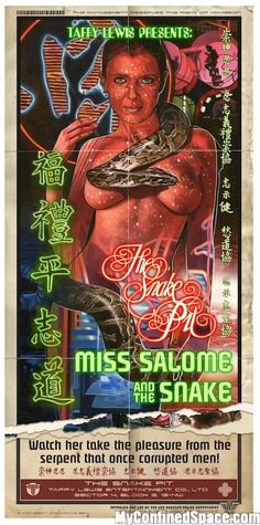 Love some neon lettering. Miss Salome - Blade Runner