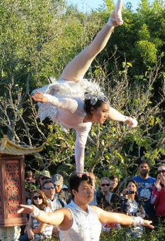 Around the World at Epcot: Chinese Acrobatic Ballerina