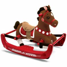 This is adorable!! Radio Flyer® Soft Rock & Bounce Rocking Horse from jcp.com.