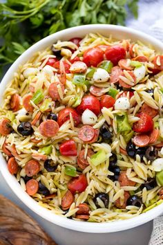 Orzo Pasta Salad Recipe With Cranberries.Feta Cranberry Orzo Salad Recipe Taste Of Home. Wild Rice Orzo Cranberry Salad A Healthy Life For Me. Chicken Cranberry Pecan And Orzo Salad With A Lemon . Orzo Salat, Orzo Salad Recipes, Recipes With Orzo Pasta, Recipe Pasta, Pasta Salad Italian, Cranberry Recipes, Pasta Dishes, Pasta Food, Food Food