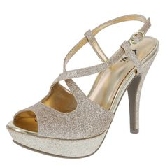 Amp up your night out with this fancy Fioni heel!
