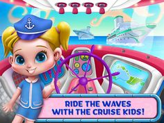 Cruise Kids - Ride The Waves App by TabTale LTD. Kids Game Apps.
