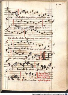 Cantionale, Geistliche Lieder mit Melodien. Münchner Marienklage Tegernsee, 3. Drittel 15. Jh. Cgm 716  Folio 101