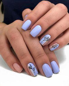 60 best natural short square nails design for summer nails - hairdressing . - 60 best natural short square nails design for summer nails – Hairdressing hairstyles … – 60 B - Square Nail Designs, Short Nail Designs, Cute Nail Designs, Winter Nail Designs, Cute Acrylic Nails, Cute Nails, Pretty Nails, My Nails, Work Nails