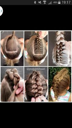mohawk reversed dutch braid - tutorial