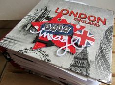 Travel Book London England 2015 Details: http://scrapaurore.canalblog.com/archives/2015/02/27/index.html