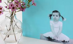 DIY: Modern Photo Wall Art