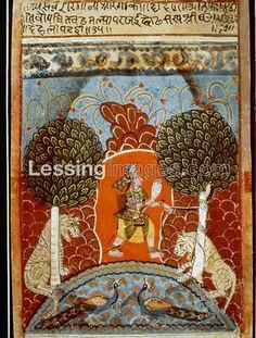 Saveri Ragini. Ragamala,  Malwa School, India, 17th Century