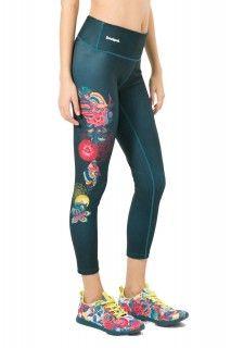 Desigual zelené sportovní legíny Capri Posicional - 1499 Kč Capri, Pajama Pants, Pajamas, Sport, Fashion, Pjs, Moda, Deporte, Sleep Pants