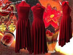 Free Pattern Draft: Simple Pattern Evening Dress from www.secondstreet.ru/blogspot